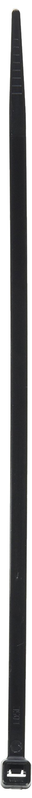 Pro Tie B8SD100 8-Inch Standard Duty Cable Tie, UV Black Nylon, 100-Pack by Pro Tie