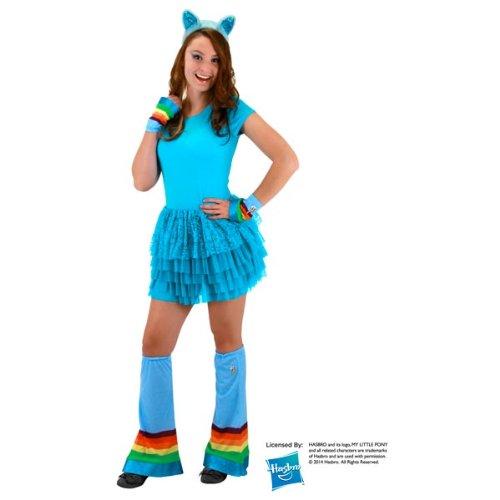 Elope My Little Pony Rainbow Dash Arm and Leg Hoofwarmer Costume Accessory Set ()