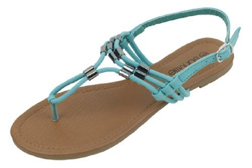The Bay Sunville Womens Roman Gladiator Sandals Flats Thongs
