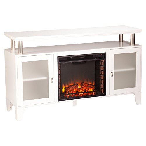 Souther Enterprises Cabrini Entertainment Center with Fireplace TV Stand