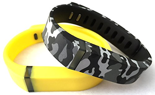 Yellow Camouflage Military Replacement Tracker