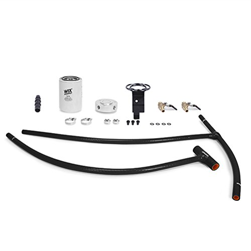 Mishimoto MMCFK-F2D-03BK Black Powerstroke Eng Coolant Filter Kit