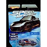 Hot Wheels Speed Machines Porsche 911 GT3 Road BLACK 1:64 Scale