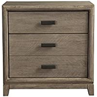 Alpine Furniture 1800-02 Camilla Nightstand
