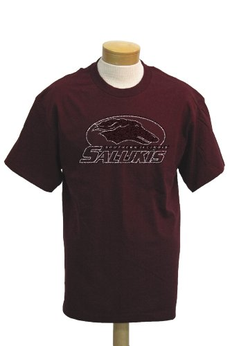 - NCAA Men's Southern Illinois Salukis Biggies Short Sleeved T-Shirt (Maroon, Medium)
