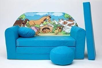 divano letto con materasso giapponese futon mobili per bambini + ... - Divano Letto Per I Bambini