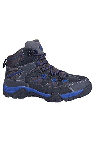 Mountain Warehouse Chaussures Randonnée enfant Fille Garçon Bottes imperméable Rapid Bleu 37