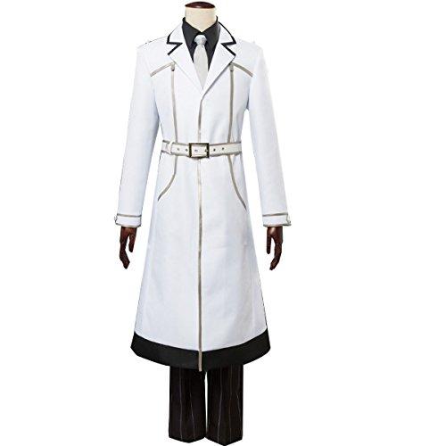 NSOKing Anime Tokyo Ghoul 3 Re Sasaki Haise Ken Kaneki Cosplay Costume (XX-Large, White)