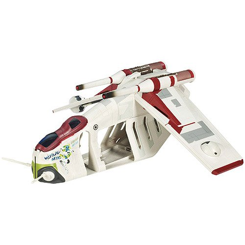 Star Wars Clone Wars Animated Series Exclusive Vehicle Republic (Star Wars Clone Wars Gunship)