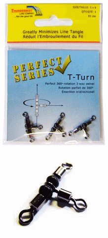 Thundermist 55lb T-Turn 3-Way Swivel (Medium)