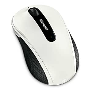 Microsoft Wireless Mobile Mouse 4000 - White