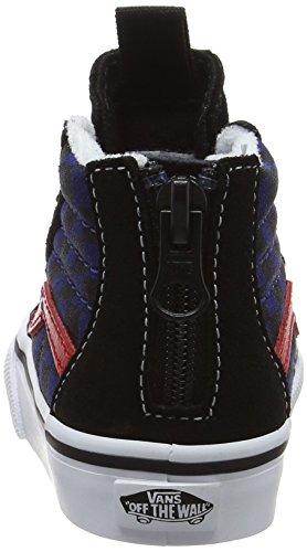 Zapatillas black Zip Bebé Vans blue Sk8 Entrenamiento Colores para Niñas Depthscheckerboard De hi Varios qtPExAgE