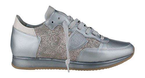 Philippe Model Damen Sneaker Tropez Grau
