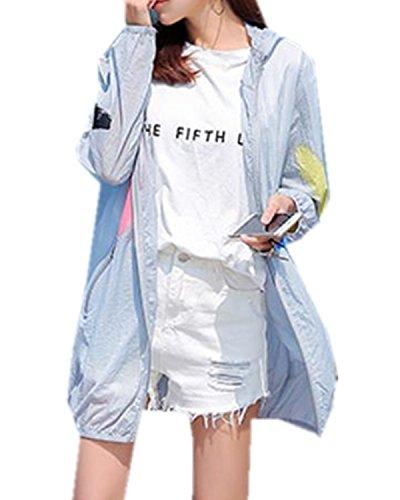 ININUK レディース ファッション 長袖 カーディガン 春 夏 ロング UVカット シンプル ショール エレガント スリム 薄手 柔らか 紫外線 日焼け 冷房 対策 ビーチコート 通勤 通学 水着