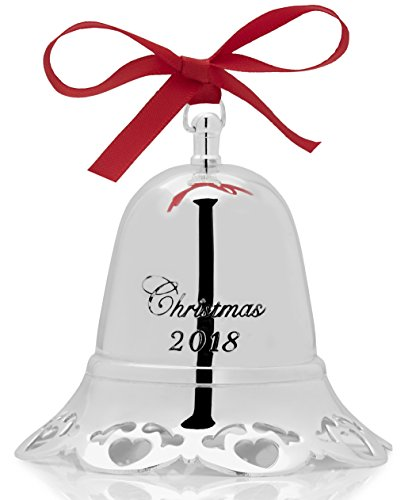 - Towle 2018 'Have Yourself a Merry Little Bell Silver-Plated Christmas Holiday Ornament, 36th Edition,