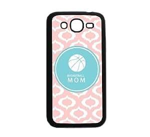Basketball Mom Baby Pink Ikat Cute Hipster Samsung Galaxy Grand Duos I9080 I9082 Case - Fits Samsung Galaxy Grand Duos I9080 I9082