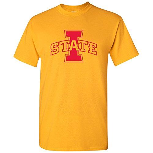 UGP Campus Apparel Iowa State Primary Logo T-Shirt - X-Large - Gold