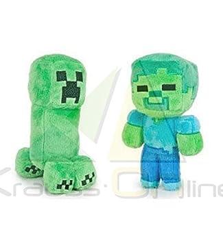 OTRAS MARCAS Peluche de Minecraft Creeper y Zombie (760015400)