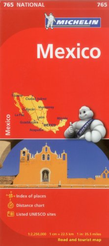 Michelin Map Mexico 765 (Maps/Country (Michelin))