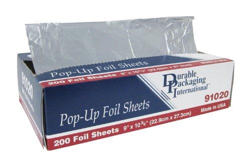 Durable Foil Aluminum Foil Sheets, 9