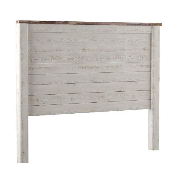 Ashley Furniture Signature Design - Willowton Full Panel Headboard - Contemporary Style - Component Piece - Queen Size…