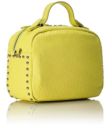 Mano Bolso De Mujer Amarillo Borse Chicca Yellow 8614 yellow HxZwEwI