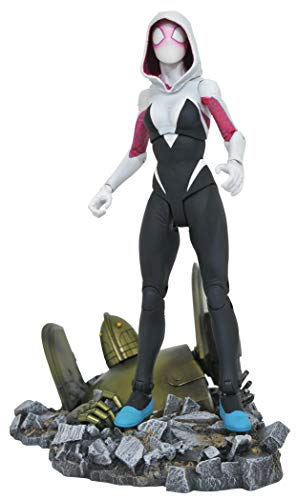 Entertainment Earth Marvel Select Spider-Gwen Action Figure, -