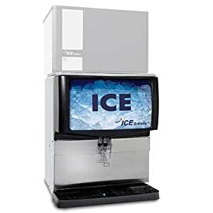Ice-O-Matic IOD250 Countertop Ice Dispenser with 250 lb Storage Capacity (Ice Machine not included)