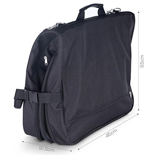 Kenley Business Kleidersack Kleidertasche Anzugtasche - bis zu 4 Anzüge 1GOIf5ug