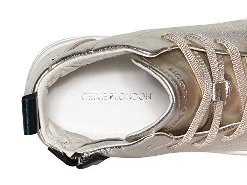 Platino Sneaker Scarpe Donna Crime 25261 Pe18 26 XHgx6pw
