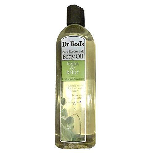 Dr. Teal's Body and Bath Oil With Eucalyptus Spearmint, 8...