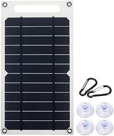Startseite Generator 10W 6V 1.5A Tragbare Monokristalline Solar Panel Slim & Light USB-Ladegerät Lade-Energien-Bank-Pad Außen Generator