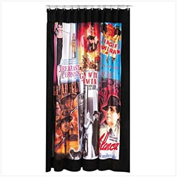 Amazon.com : Movie Poster Shower Curtain : Everything Else