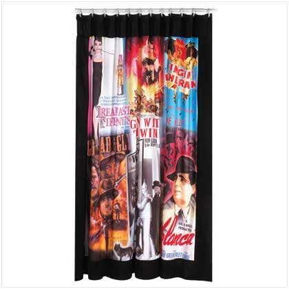 Movie Poster Shower Curtain