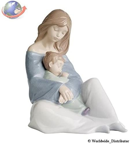 Lladro Nao Collectible Porcelain Figurine The Greatest Bond – 7 1 4 Tall – Mother and Child