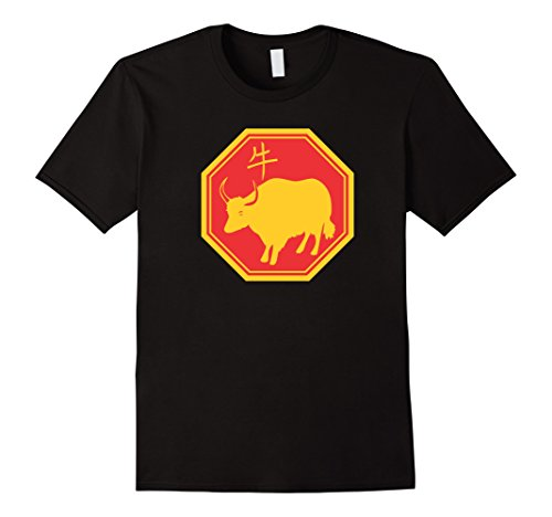 Men's Year of the Ox Chinese Zodia - Lunar New Year Shirt...