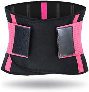 FBYYJK Taille Trimmer RiemKleurrijke Taille Trainer Voor Gewichtsverlies Taille Eraser Sauna Sweat BandPinkXxl