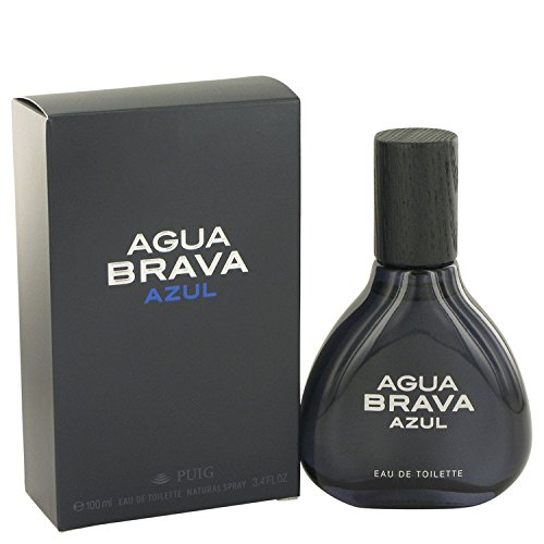 Antonio Puig Agua Brava Azul Eau De Toilette Spray 3.4 oz for - Agua Spray Brava