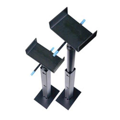 """DumbleRV Slide Out Stabilizer Jacks 16""""-28"""" Inch Jack Stands 2 Piece Set"""