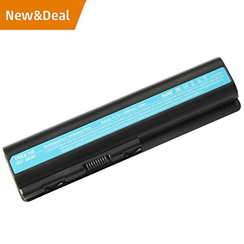 Laptop Battery for HP 484172-001 485041-001 498482-001 484170-001 HSTNN-LB72 HSTNN-UB72 HSTNN-CB72 484171-001 485041-001 HSTNN-Q34C, CQ40 CQ50 CQ60 CQ70 HDXX16 G60 G70 – High Performance Spare (1002au Battery)