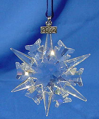 Swarovski Christmas Ornament 2002 Limited Edition #288802