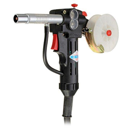 Push Pull Gun (NBC-200A Miller MIG Spool Gun Push Pull Feeder Aluminum Welding Torch with 1m Cable)