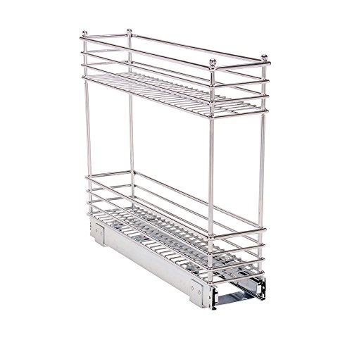 (Household Essentials Glidez Narrow Sliding Organizer, 5