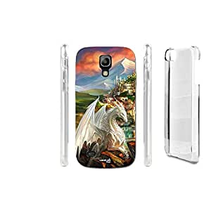 FUNDA CARCASA DRAGO WHITE DRAGON PARA SAMSUNG GALAXY S4 MINI I9195