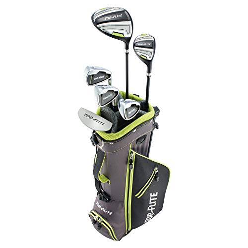 Club 10 Top - Top Flite Junior Boys Complete Golf Club Set Ages 9-12 or 53