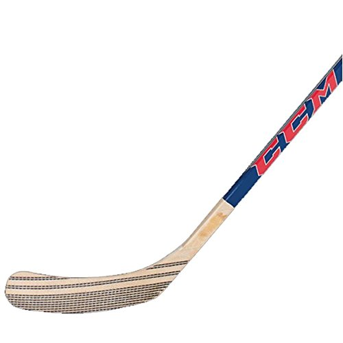CCM Unisex Heat 252 Senior 85 Street Hockey Stick, Red, (Ccm Fiberglass Hockey Stick)