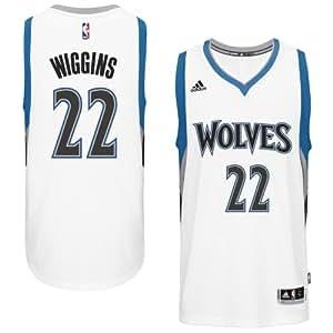 Andrew Wiggins Minnesota Timberwolves Adidas Swingman White Jersey (L)