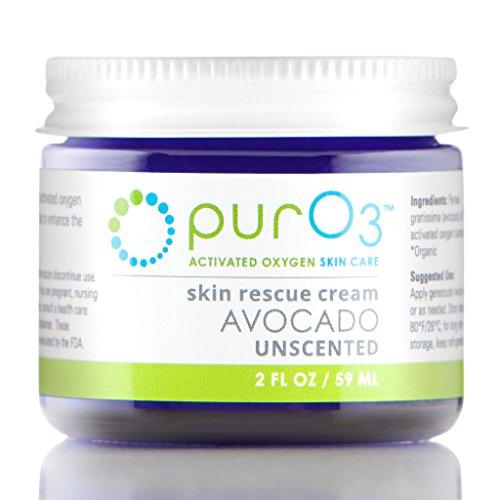 PurO3 Fully Ozonated Avocado Oil - 2 oz - Glass Jars