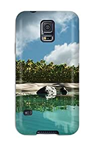linfenglinFor Matt C Brown Galaxy Protective Case, High Quality For Galaxy S5 Island Skin Case Cover