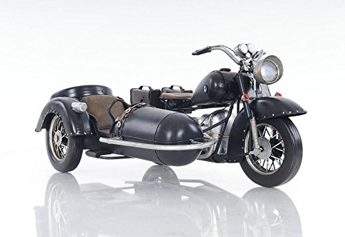 Bmw R75 Military 1930S Motorcycle Sidecar Metal Model 11